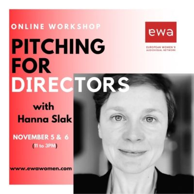 Workshop_Pitching for Directors